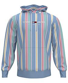 Tommy Hilfiger Men's Pastel Capsule Striped Hoodie