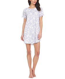 Emilie Ribbed Sleep T-Shirt Nightgown