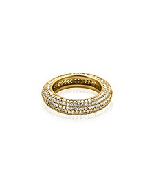 Women's Zusi 18K Gold Plated Brass Ring