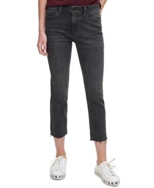 Rivington Slim Cropped Raw-Hem Jeans
