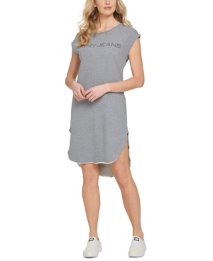 Cotton Logo T-Shirt Dress