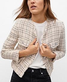 Pocket Tweed Jacket