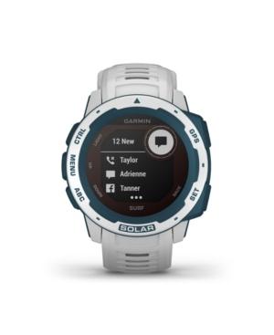 Unisex Instinct Solar Surf Edition Cloudbreak Silicone Strap Smart Watch 23mm