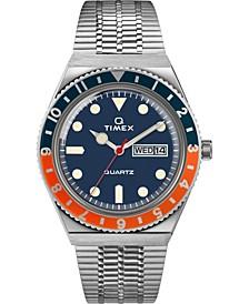 Men's Lab Archive Silver-Tone Stainless Steel Bracelet Watch 38mm