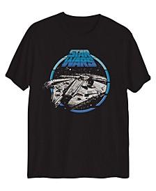 Big Boys Star Wars Falcon Legacy Short Sleeve Graphic T-shirt