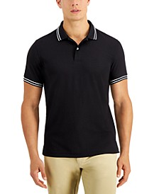 Men's Performance Stripe Polo, Created for Macy's