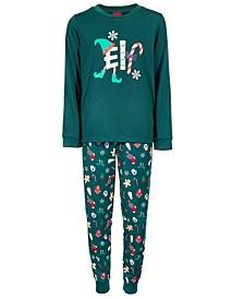 Matching Toddler, Little & Big Kids 2-Pc. So Elfing Merry Family Pajama Set