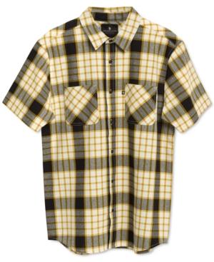 Men's Kaine Short Sleeve Plaid Shirt