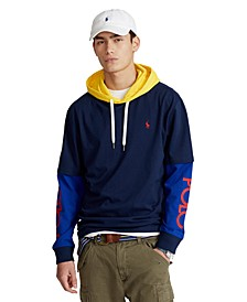 Men's Classic-Fit Logo Hooded T-Shirt