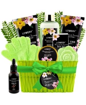 Magnolia and Jasmine Bath Gift Spa Set