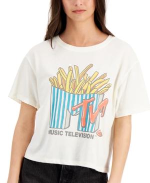 Juniors' Mtv Graphic Print T-Shirt