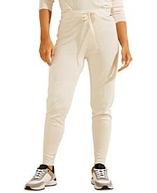 Tanya Jersey Knit Jogger Pants
