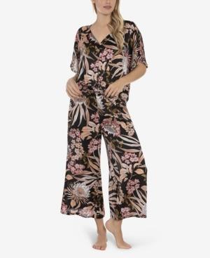 Women's Molly Chiffon 2 Piece Pajama Set