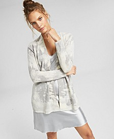 Tie-Dyed Open-Front Cardigan, In Regular and Petites, Created for Macy's