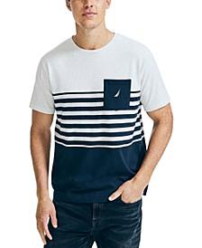 Men's Colorblocked Pocket T-Shirt
