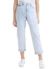 Cotton Boyfriend Jeans