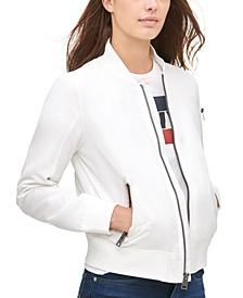Plus Size Trendy Melanie Bomber Jacket