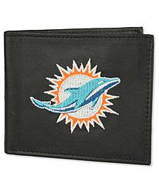 Rico Industries Miami Dolphins Black Bifold Wallet