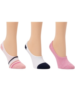 Women's Fine Strip Liner Socks
