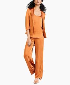 Open-Front Jacket, Cami, Wide-Leg Pants & Blakke Dress Sandals, Created for Macy's