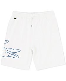 Men's Logo-Print Fleece Shorts