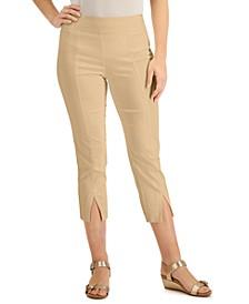Petite Split-Hem Capri Pants, Created for Macy's