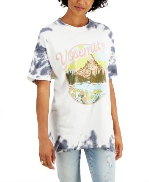 Juniors' Yosemite Tie-Dye Cotton T-Shirt
