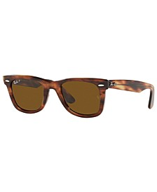Unisex Wayfarer Polarized Sunglasses, RB2140 50