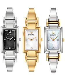 Women's Classic Diamond-Accent Watch Collection
