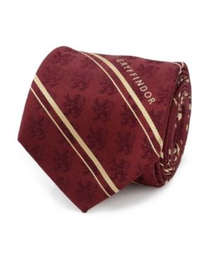 Men's Gryffindor Striped Silk Tie