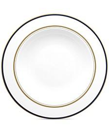 Library Lane Navy Pasta Bowl/Rim Soup