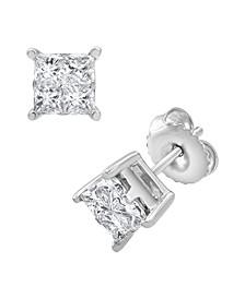 Diamond Earring (1 ct. t.w.) in 14K White Gold