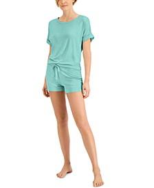 Women's Ultra-Soft Pajama Short Set, Created for Macy's