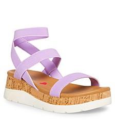 Big Girls JRossiee Wedge Sandals