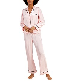 Notch Collar Pajama Set, Created for Macy's