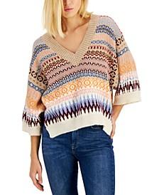 Erasmo 3/4-Sleeve Sweater