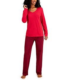 Cotton Pajama Set, Created for Macy's