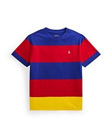 Big Boys Striped Jersey T-shirt
