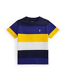Toddler Boys Striped Jersey T-shirt