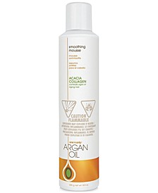 Argan Oil Smoothing Mousse, 8.8-oz., from PUREBEAUTY Salon & Spa