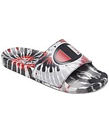 Men's IPO Tie-Dye Slide Sandals from Finish Line