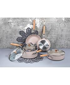Atmosphere Nonstick Aluminum 12-Pc. Cookware Set