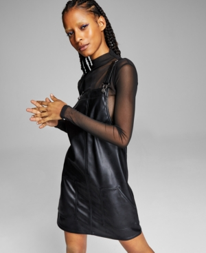 Women's Faux-Leather Skirtalls