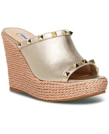 Women's Manners Platform Wedge Sandals
