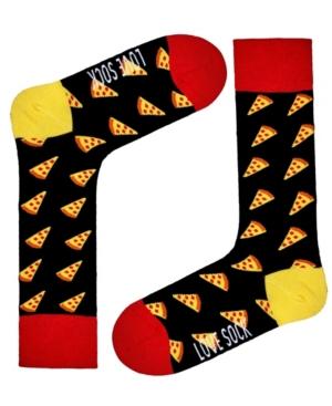 Men's Pizza Novelty Crew Socks