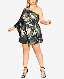 Trendy Plus Size Bahamas Playsuit