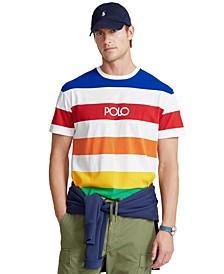 Men's Classic-Fit Striped Jersey T-Shirt