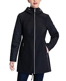 Softshell Anorak Hooded Raincoat