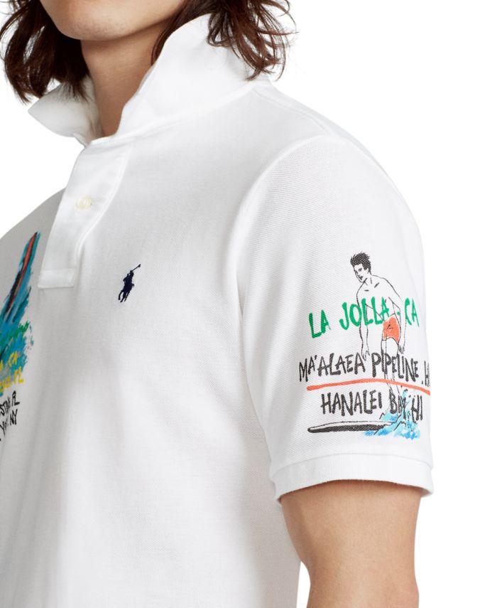 Polo Ralph Lauren Men's Classic-Fit Surf Mesh Polo Shirt & Reviews - Casual Button-Down Shirts - Men - Macy's