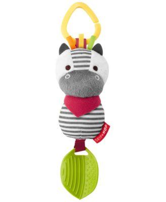 Bandana Buddies Zebra Chime Teethe Toy